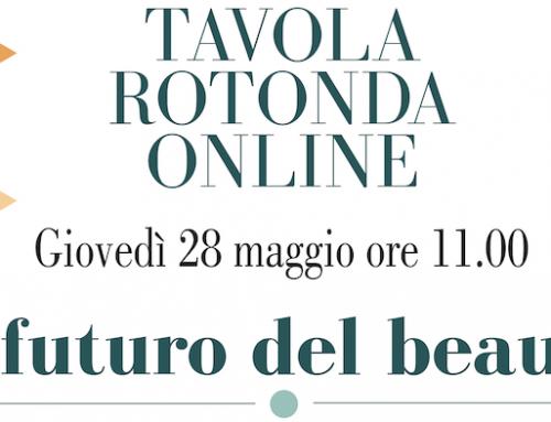 Tavola rotonda: 'Il futuro del beauty'. Online giovedì 28 maggio, ore 11.00.